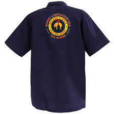 Summit Oils - Mechanics Graphic Work Shirt  Short Sleeve