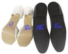 I Do - Me Too - Wedding Shoes set vinyl stickers
