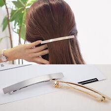 Korean Women Gold/Silver Hair Clip Hairpin Barrette Tiara Headwear Ornament