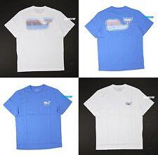 "NWT Vineyard Vines Men's Short Sleeve Crew Neck Tee T-Shirt ""STRIPE WHALE"""