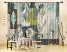 Creative Foliage 3D Curtain Blockout Photo Printing Curtains Drape Fabric Window
