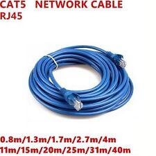 RJ45 CAT5 Ethernet LAN Network Cable 11m 15m 20m 25m 31m 40m ENETW