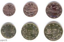 Grecia 2005-MAXI Set di 6 monete in Euro (UNC) ** NUOVO **