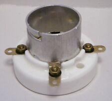 UX4 ceramic locking bayonet socket for 300B, 2A3, 811A