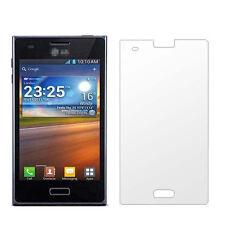 3x CLEAR LCD Screen Protector Shield for LG Optimus L5 E610 E612 SX
