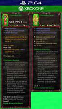 Diablo 3 Ps4 - Xbox One - Modded PRIMAL Weapon - Set Chantodo's Resolve - Wizard