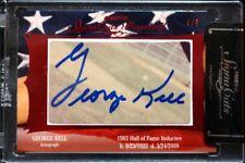 George Kell Tristar Signa Cuts Auto 4/5 Signed Legendary Cut Autograph HOF SP DE