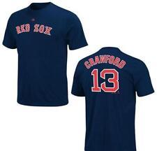 MLB béisbol nombre & number t-shirt Boston Red Sox carl crawford #13 Navy