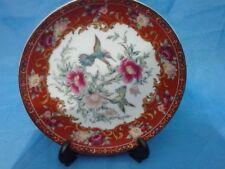 Humming Bird & Flower Giftware-Rojo-Nuevo Y En Caja-retirado & Rare 50% De Descuento