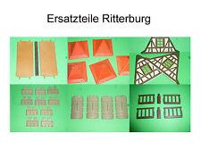 Ersatzteile Einzelteile zu Ritterburg Fachwerkäuser 3666 3667 3888 Playmobil 200