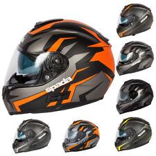 Spada Sp16 Voltor Linear Full Face Motorbike Motorcycle Helmet Scooter Matt