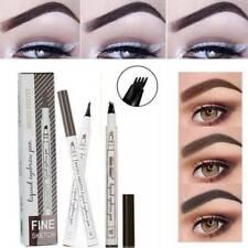 Eyebrow Tattoo Pencil Pen Waterproof 4 Fork Tips Microblading Makeup Ink Sketch