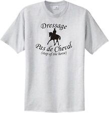 Dressage Pas de Cheval Step of the Horse Riders T-Shirt Multiple Colors & Sizes