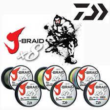 Daiwa J-Braid X8 geflochtene Schnur 10m in 3 Farben und alle Stärken zur Auswahl
