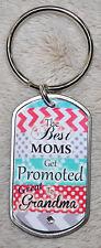 Swarovski Crystal Tag Key Chain or Necklace For Great Grandma