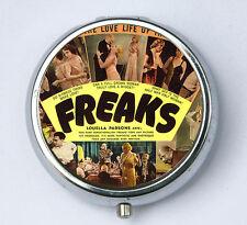 Freaks Pill Case holder pill box pillbox DIY circus sideshow freak performer