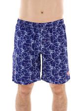 CMP SHORT DE BAIN BERMUDA vêtements de natation blau Motif à fleurs blanc