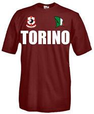 T-Shirt girocollo manica corta Supporters T23 Tifosi Torino calcio football fans