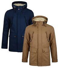 Ringspun Tondor Hooded Borg Lined Jacket Long Cotton Fashion Warm Winter Coat