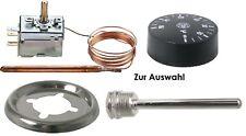 Jumo Einbauthermostat Kapillarthermostat TR2 Thermostat Hülse Drehknopf Ring