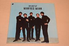 MANFRED MANN LP BEST OF 1°ST ORIG 1977 SIGILLATO ! AUDIOFILI SEALED !!!!!!!!!
