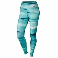 Nike Women's Legend 2.0 Ribbon Wrap Training Leggings - Teal/Light Retro