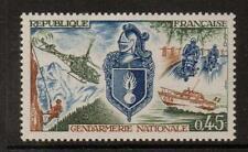 La Francia sg1856 1970 Gendarmeria nazionale Gomma integra, non linguellato