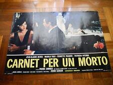 Fotobusta CARNET PER UN MORTO 1967 Marilù Tolo, Perrette Pradier (1)