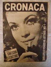 RIVISTA CRONACA 10/1969 LETIZIA PAGANELLI DIANA KJAER G. GENTILE K. DI BIASI