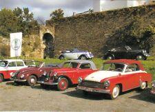 Ansichtskarte: IFA F8 Cabriolet, IFA F9 Cabriolet u. Wartburg 311-2 DDR-Oldtimer