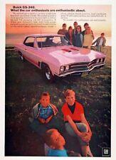 1967 BUICK SKYLARK GS-340  ~  NICE ORIGINAL MUSCLE CAR AD