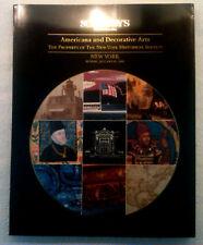 Sotheby's Americana & Decorative Arts 1995 Historical