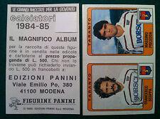 CALCIATORI 1984-85 84-1985 n 471 TARANTO SCOPPA PISCEDDA  Figurine Panini velina