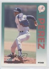 1992 Fleer #240 Pascual Perez New York Yankees Baseball Card