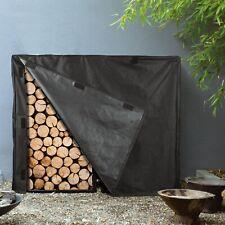 Firewood Log Rack Cover Waterproof Dry Wood Pile Holder Tarp Cover Outdoor