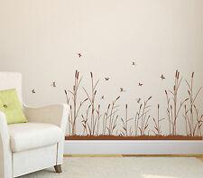 Reed Wall Art Vinyl Wall Transfer Sticker, DIY Wall Sticker/Decal, HIGH QUALITY