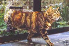Transcat Small Dog & Cat Glass Fitting Pet Flap Door - Standard size. Clear