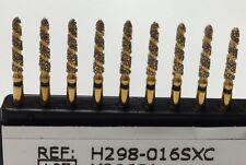 H-298-016Sxc Spiral (10)FG Diamond Burs Triple Action crown & bridge prep