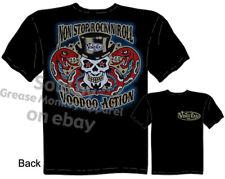 Rock N Roll Voodoo T-shirt, Kustom Kulture Tee, Sz M L XL 2XL 3XL, Quality, New