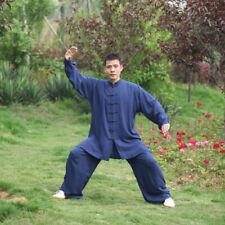 Men Womens Martial Arts Uniform Kung Fu Tai Chi Taekwondo Top+pants Exercise