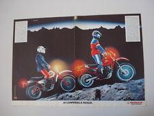 advertising Pubblicità 1983 MOTO HONDA XL 125 e  XL 600