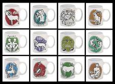 Classic *Zodiac* Java/Coffee Mug! (2 Sided) Ceramic *Select Your Sign* NEW!