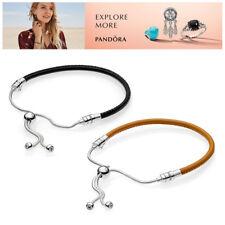PANDORA Leder Armband 597225 Leather Bracelet Silber