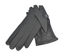 Para hombres Moda Vestido Guantes De Alta Calidad De Cuero Forrado De Invierno Cálido Vintage