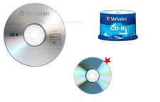 OFFERTA CD-R VERBATIM 100% Vergini Vuoti 52X  700Mb Per Audio 80 Min ORIGINALI
