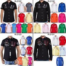 Herren Freizeit Hemd Poloshirt Regular Polo T-Shirt Langarm Kurzarm Redbridge