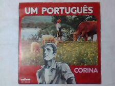 """CORINA Um portugues 7"""" PORTUGAL NUOVO RARISSIMO"""