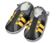 Chaussures de Bébé, Poussoir Cuir, Chaussons, en Cuir Chaussons Ballet Neuf