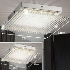 DESIGN LED Plafond Lampes chrome Spot dielen Lumières verre cuisines éclairage