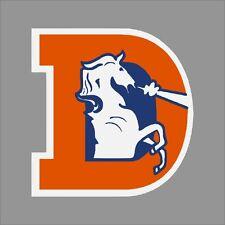 Denver Broncos #6 NFL Team Logo Vinyl Decal Sticker Car Window Wall Cornhole